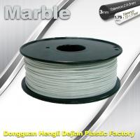 China Good Simple Sense Flexible 3d Printing Filament Marble Filament White Color wholesale