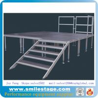 Buy cheap Aluminum Height Adjustable Plywood Stage for Events product