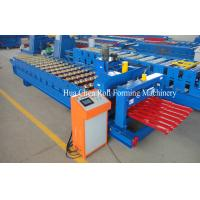 China Great Building Material Aluminum Roof Glazed Tile Roll Forming Machine wholesale