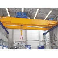 Professional Double Girder Eot Crane With Heavy Duty Open Winch Trolley Hoist