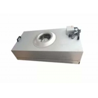 China Clean Room Hepa Fan Filter Unit Coil Filtered Exhaust Fan Galvanized Plate on sale