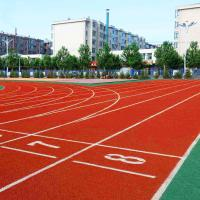 China Sports Field Jogging Track Material With Synthetic And Rubber Compounds wholesale