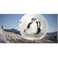 China Clear TPU Matrial Inflatable Zorb Ball Customized Design Excellent Air Tightness on sale
