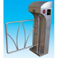 China RS485 Stainless Steel Swing Arm Barriers Waist High For Subway wholesale