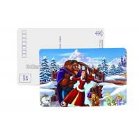 Quality Cartoon Design 3D Lenticular Postcard For Kids CMYK Offset Printing for sale