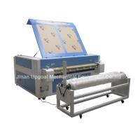 China Double Heads 1600*1000mm Co2 Fabric Laser Cutting Machine wholesale