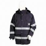 China 228T Nylon Taslon-coated PU Waterproof and Breathable Coat wholesale