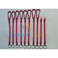 China Customized Size and Red Color 4'' to 40'' Multi-purpose Utilities Plier Coiled Lanyards wholesale