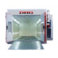 China Portable Infrared Spray Painting Booths 380V , 3-fold Door For Vehicle wholesale
