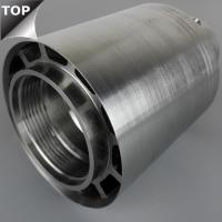 China Stellite 6 High Shear Rotor Stator Mixer Great Wear Resistance Silver Color wholesale