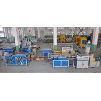China Single Wall Corrugated Pipe Extrusion Machinery For PP / PE / PVC Pipe wholesale