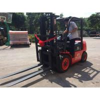 China Steel Bar / Roll Material Handling Equipment Diesel Forklift One Year Warranty wholesale