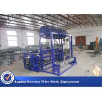 China Hinge Joint Knot Weaving Grassland Fence Machine 45 Row / Min Efficiency  wholesale