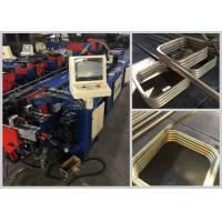 Quality Automatic pipe bending machine with PLC system controller for steel racks for sale