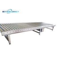 China Stainless Steel Extendable Delivery Motorized Roller Conveyor Parts wholesale