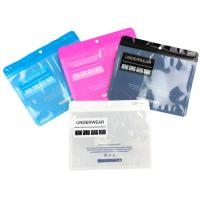 China ODM / OEM PET Plastic Ziplock Bags For Man's Underwear Packaging wholesale