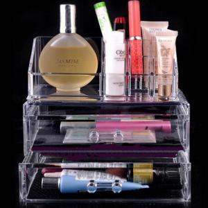 China Eco-Friendly acrylic cosmetic holder , Clear acrylic lipstick holder wholesale