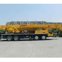 China Telescopic Boom Truck Crane For Railway Stations / Warehouses / Construction Sites wholesale
