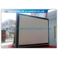 China Enjoy Outdoor Large Inflatable Movie Screen Film Screen For Party / Wedding wholesale