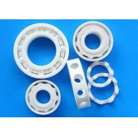 China Corrosion Resistance Ceramic Plain Bearings ZrO2 Material Ceramic Cage wholesale