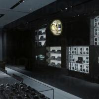 2 Blades 3d Image Projection Hologram Advertising Display For Jewellery Shops