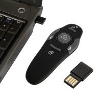 China 2.4GHz Wireless Presenter with Red Laser Pointers Pen USB RF Remote Control wholesale