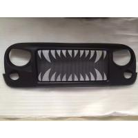 China Jeep Jk Wrangler Spartan Grille_Land Shark Material: ABS Plastic wholesale