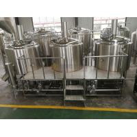 China 1000L Brewhouse Micro Beer Brewing Equipment Stainless Steel 304 / 316 Material wholesale