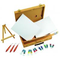China Multi Function Art Painting Set Paint Boxes For Artists 39 X 30 X 8cm wholesale