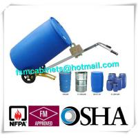 Quality CE Drum Storage Cabients 4 Wheels Dispensing Porable Filting Oil Tank Trolley for sale