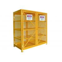 China Double Door 65 Inch 16 Cylinder Storage Cabinet Wire Cage Storage Lockers Horizontally wholesale