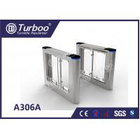 China Rainproof Design Office Security Gates / Swing Gate Turnstile For Library wholesale