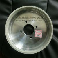 China 6A2 vitrified diamond grinding wheel for tungsten cabide wholesale
