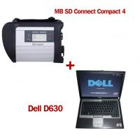 China Wireless MB SD C4 Mercedes Benz Diagnostic Tool With Dell D630 Laptop Ready to Use wholesale