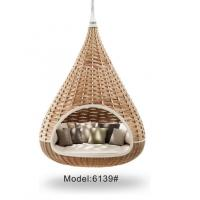 China Bird nest shape rattan wicker outdoor daybed   ---6139 wholesale