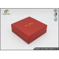 China Embossing Logo Customized Environmental Printing Cardboard Gift Boxes With Hot Stamping Surface Dispoal on sale