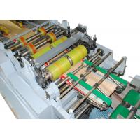 Quality Electric Motor Driven Paper Bag Forming Machine with Four Colors Flexo Printing for sale