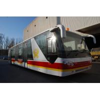 China 4 Stroke Diesel Engine Shuttle Bus To The Airport With Aluminum Apron wholesale