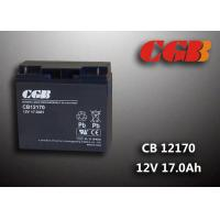 China Maintenance Free 12V 17AH Regulated Lead Acid Battery For UPS Energy wholesale