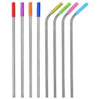 China FDA Food Grade Flexible Silicone Tubing Round Shape For Stainless Steel Straw wholesale