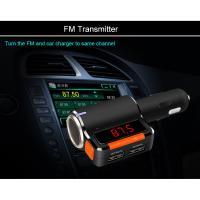 Quality Dual Bluetooth Car charge with FM&Mp3 player for sale