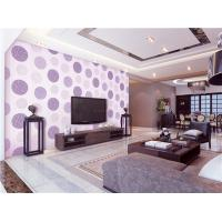 China 70cm width high quality fireproof,waterproof and mould proof  PVC vinyl wallpaper wholesale