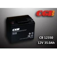 China Sealed AGM Lead Acid Battery 12V 35AH CB12350 Solar Wind Elcectricity Supply wholesale