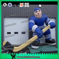 China Hockey Sports Event Inflatable Hockey Player wholesale