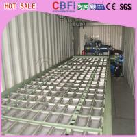 China 1 ~ 12 MT Daily Capacity Container Industrial Ice Block Making Machine For Supermarkets wholesale