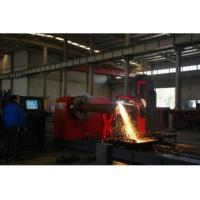 China Tube /  Pipe CNC Plasma Cutting Machine With Five Axis Controlled wholesale