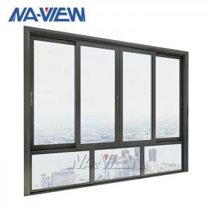 China aluminum 6063 Sliding Office Window Interior Sliding Glass Window wholesale
