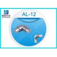China AL-12 Sandblasting Internal Connector Aluminum Weld Pipe Fittings 90 Degrees Inner Joint wholesale