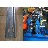 China Automatic C Purlin Forming Machine , Purlin Making Machine Easy Installation wholesale