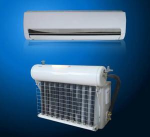 China 24000btu 80% power save hybrid solar air conditioner best price UL CSA easy installation wholesale